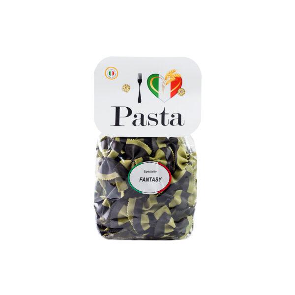 butterfly-green-and-black-Italian-pasta-I-love-italia