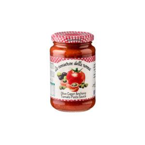 Olive-Caper-Anchovy-Tomato-Pasta-Sauce